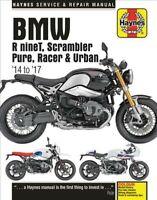 Bmw Rninet, '14-'17 Haynes Repair Manual : Haynes Service & Repair Manual, Pa...