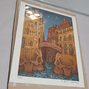 Marsians From Mars Volta Mini Art Print 8x10 /500 Numbered  - EMEK
