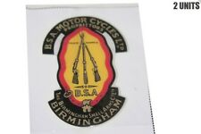 NEW BSA MOTORCYCLES LTD TRADE MARKS BIRMINGHAM STICKER DECAL 2 UNITS SPARES2U