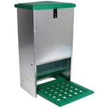 Feedomatic Futterautomat Trittklappe 20 kg Futtertrog Hühner Puten Geflügel