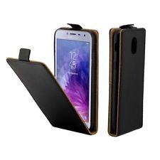 CUSTODIA COVER CASE FINTA PELLE PER  Samsung  Galaxy J4 (2018) SMG-267