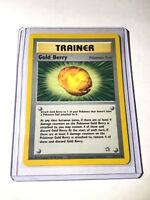 GOLD BERRY - Neo Genesis Set - 93/111 - Uncommon - Pokemon Card - Unlimited - NM
