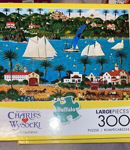Buffalo Games - Charles Wysocki - Old California - 300 Large Piece Jigsaw Puzzle