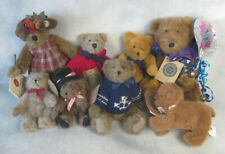 7 Boyd's Bears with tags vintage Graduations Archive dressed Lizzie & dog