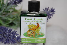 Fast Luck Oil (1) 4DRMs, Good Luck, Abundance, Santeria, Hoodoo,