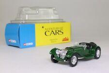 Solido; 1938 Jaguar SS100; Open Top; British Racing Green; Excellent Boxed
