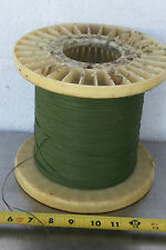 GUDEBROD BUTTWIND CUSTOM FISHING ROD WINDING WRAP GREEN ENTIRE SPOOL #6