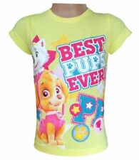 Vêtements jaune à manches courtes pour fille de 3 à 4 ans