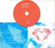 SALUTE My Heart 2016 UK 7-track promo test CD