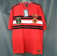 Royal Republic Rugby T- Shirt, Red Black SS No Warning Mercy  Size XLarge XL NEW