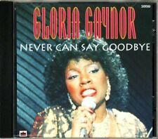 Gloria Gaynor + CD + Never can say goodbye (compilation, 12 tracks)