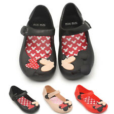 Jelly Shoes Cartoon Mickey Minnie mouse Sandals Kids Girl Toddler mini Cute New