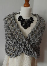 Knitting kit for a cosy shoulder shrug/cowl