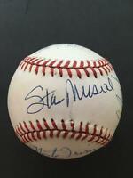 Musial,Irvin,Rizzuto,Kaline,Brock HOF Positions Signed Baseball HOF PSA/DNA
