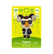 Eugene #80 Animal Crossing Amiibo Card Horizons Series 1 New / Unscanned