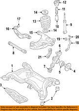 AUDI OEM 05-11 A6 Quattro Rear Suspension-Coil Spring 4F0511115BQ
