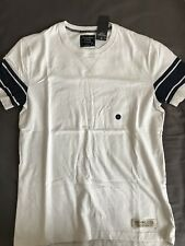 Abercrombie & Fitch Camiseta blanco-pequeño para hombre