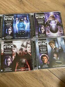 Dr Who Audio Cds Big Finish No:171,175,176,177 Bundle