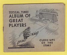 Sport: Football Loose Trade Card Publications