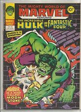 Mighty World of Marvel / Incredible Hulk : comic book #324 from December 1978