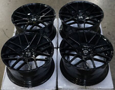 "18"" MRR Ground Force GF7 Wheels For Lexus CT200h 18-Inch Black Rims Set 18X8.0"