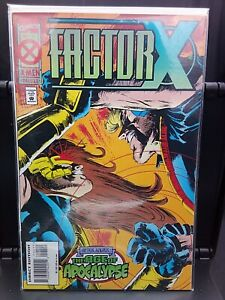 °FACTOR-X #4 A WOLRD WITHOUT XAVIER: AGE OF ACPOCALYPSE°  US Marvel 1995