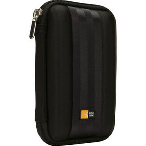 Case Logic QHDC-101 Portable EVA Hard Drive Case Black
