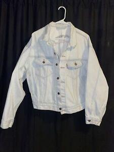 Levi's acid wash light color denim jacket size medium