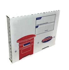 DVD CD Posting Boxes Postal Mailing Cardboard Box Mailer Large Letter Stationery