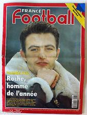 France Football du 29/12/1992; Roche Homme de l'année/ Classement Europeen