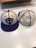 Team Issued Texas Christian TCU Horned Frogs Baseball Hat New Size 7 3/8