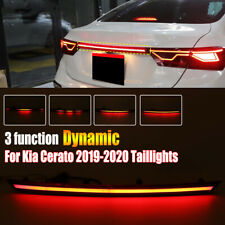 LED Tail Trunk Strip Light+Stop Brake Rear Lamp For Forte /Kia Cerato 2019-2020