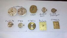 VINTAGE  AUTOMATIC WATCH mechanism in different working conditions