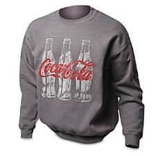 COCA COLA COKE TRIPLE BOTTLE SWEAT SHIRT 2XL   NEW!!!