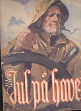 Jul Pa Havet Christmas on the Sea by Johs Dahl (1947) Norwegian SC Book