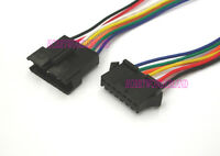 JST 2.5mm SM 7-Pin Male Female Connector housing with wire 26AWG 300mm x 10 Pair