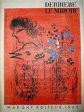 Litho Chagall  Braque Calder Léger Mirò 1960 DLM Maeght Abstrait Abstraction