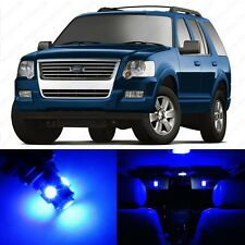 13 x Blue LED Interior Light Package For 2002 - 2010 Ford Explorer + PRY TOOL