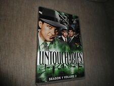 The Untouchables - Season 1, Vol. 2 (1959) Like New 4 Discs (DVD)