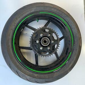 Kawasaki ZX10R Z1000F 2009 Rear wheel rim tyre sprocket disc 41073-0081-18F
