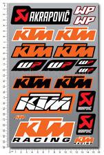 EXC SX 250 450 Super Duke 690 Aufkleber stickers 1290 Adventure 1190 laminiert!