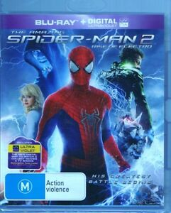 The Amazing SPIDER-MAN 2 - Rise Of Electro - Blu-Ray - NEW & SEALED Free Post