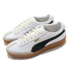 Puma Oslo-City OG White Black Rubber Men Vintage Casual Lifestyle Shoe 373000-01