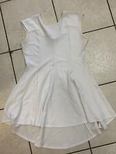 Sexy Diva Short sleeve White Textured Dress Size 3XL Pre Owned