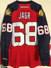 Reebok Premier NHL Jersey Florida Panthers Jaromair Jagr Red sz M