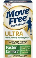 NEW! Move Free Ultra Faster Comfort, Clinically Proven Joint Support (75 ct.)