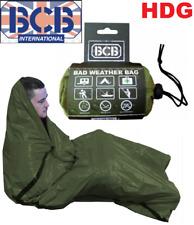 BCB BAD WEATHER BAG Bivi Emergency Survival Blanket Hike Sleeping Foil Bothy SAS