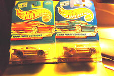 Hotwheels Hot Wheels 1998 IROC FIREBIRD 2 DIFFERENT Cars Variant Cards & more