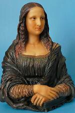 skulptur,mona lisa,23x17cm,figur,statue,polyresin,Louvre,nach dem gemälde,