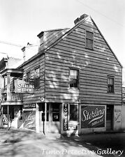 Sterling Beer Signs on Tavern, Savannah, Georgia - 1937 - Historic Photo Print